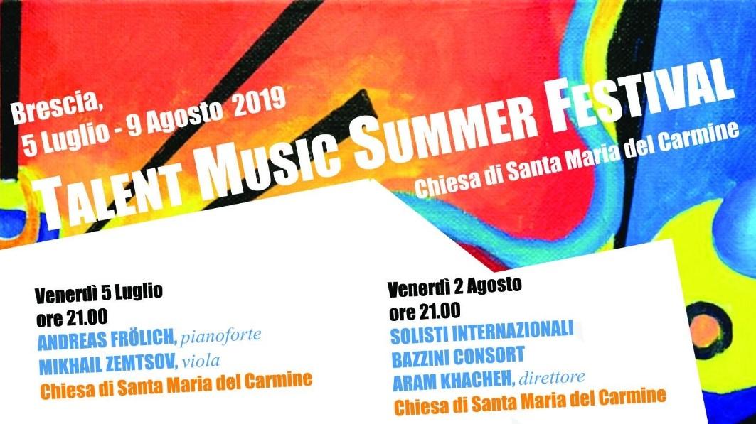 Talent Music Festival nella Chiesa del Carmine