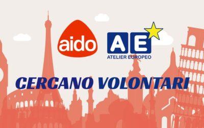 AIDO e Atelier Europeo cercano volontari per il progetto FEDO